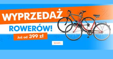 Wyprzedaż rowerów już od 399 zł w Electro