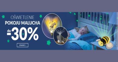 Oświetlenie pokoju do 30% taniej na Empik.com