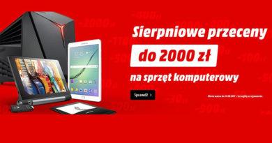 Rabaty do 2000 zł na sprzęt komputerowy w Media Markt