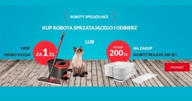 Rabat 200 zł na iROBOT lub Mop Vileda w Neonet