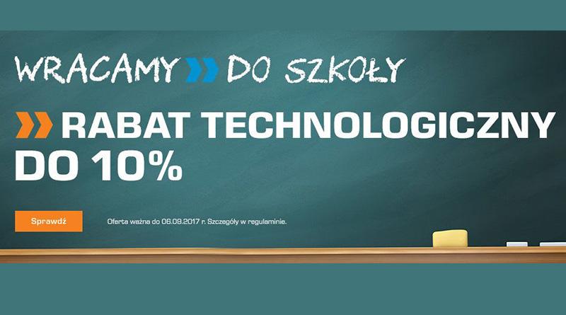 Rabat technologiczny do -10% w sklepie Saturn