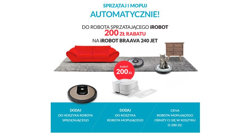 Rabat 200 zł na iRobot