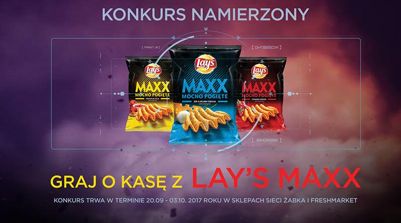 Konkurs Żabka Graj o kasę z Lay's Maxx