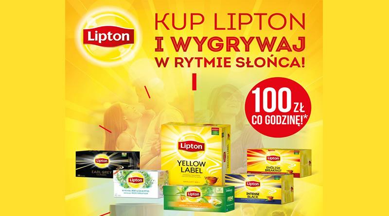 Loteria Lipton Wygrywaj w rytmie słońca!