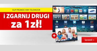 Kup TV i zgarnij drugi za 1 zł w Media Expert