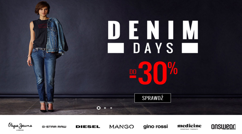Denim Days do -30% na Answear.com