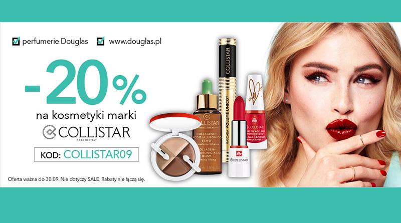 Rabat 20% na kosmetyki w Douglas