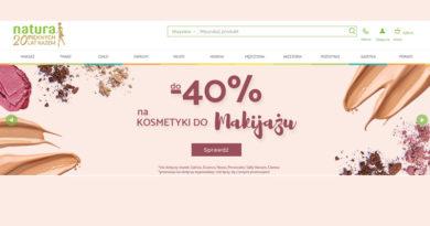 Promocje do -40% na kosmetyki w Drogerii Natura