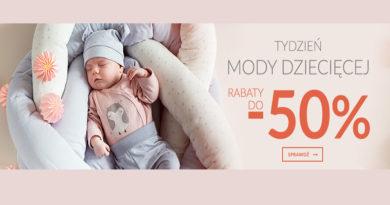 Moda dziecięca z rabatami do -50% na Empik.com