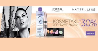 Kosmetyki do -30% taniej w sklepie Komputronik