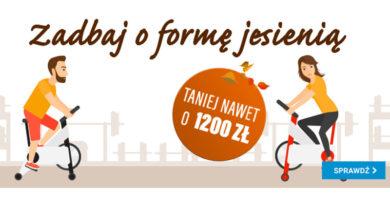 Zadbaj o formę z rabatami do 1200 zł w OleOle!