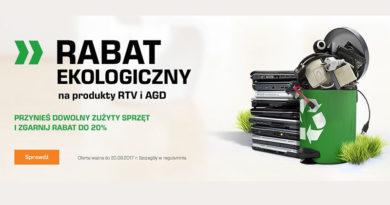 Rabat ekologiczny na RTV i AGD w sklepie Saturn