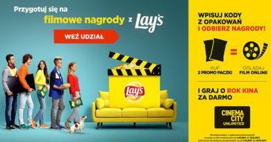 Przygotuj się na filmowe nagrody z Lays