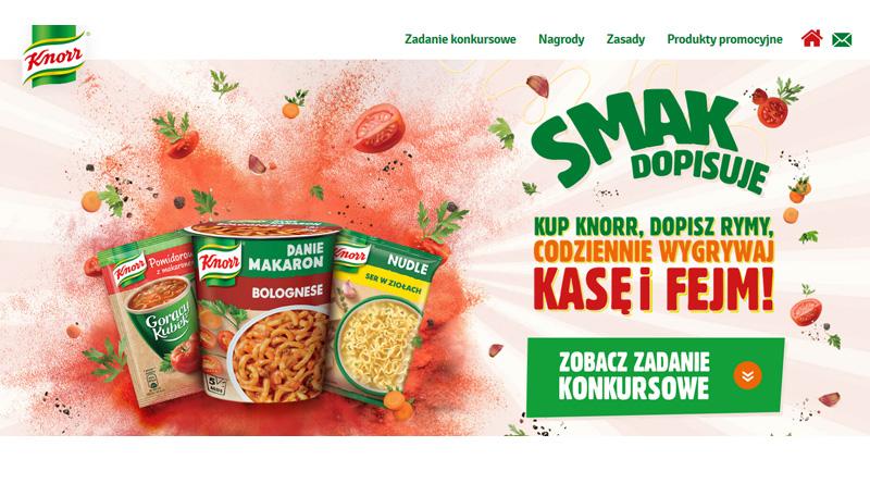 Konkurs Knorr Smak Dopisuje