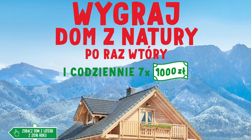 Loteria Almette Dom z natury po raz wtóry!