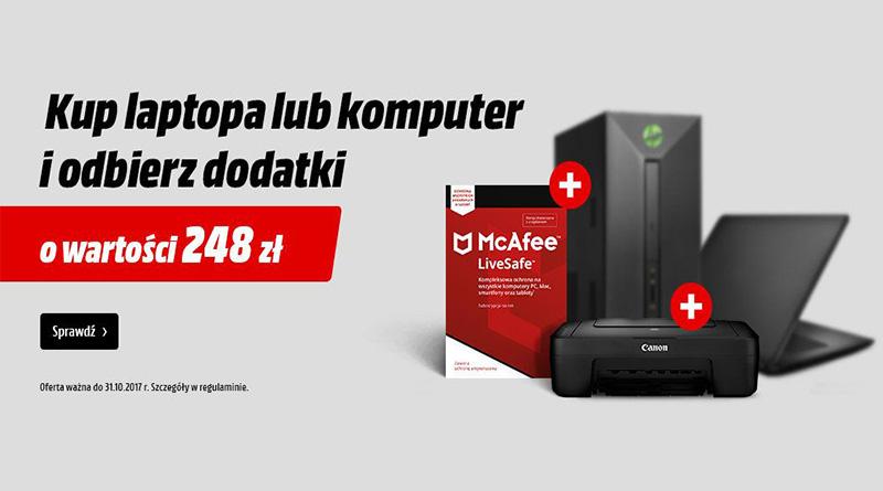 Komputery z prezentem w Media Markt