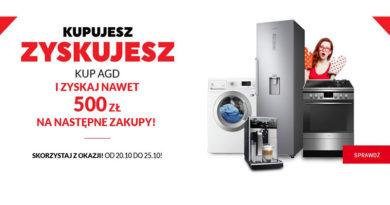 Kup AGD i zyskaj do 500 zł na następne zakupy w Neonet