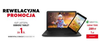Kup laptopa w Neonet i odbierz tablet za 1 zł!