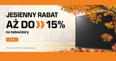 Jesienny rabat aż do 15% na TV w sklepie Saturn