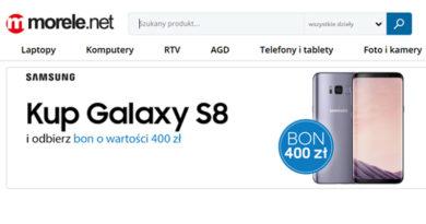 Odbierz bon o wartości 400 zł na morele.net