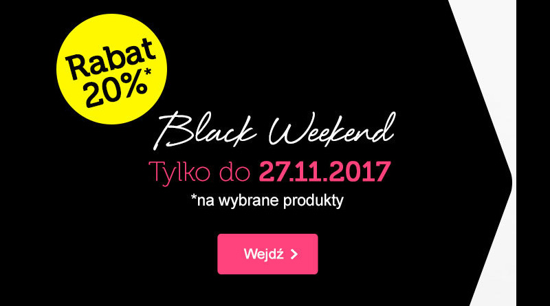 Black Weekend z rabatem 20% w Bonprix