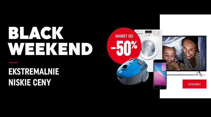 Black Weekend do -50% taniej w Neonet