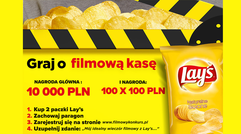 Konkurs Carrefour Filmowy konkurs Lay's