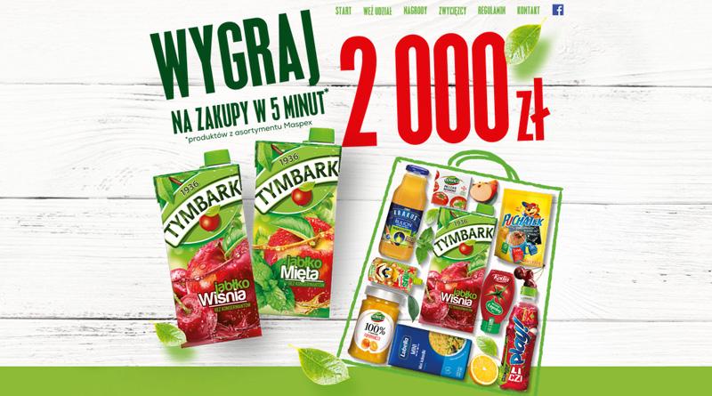Konkurs Lewiatan Wygraj 2000 zł na zakupy w 5 minut