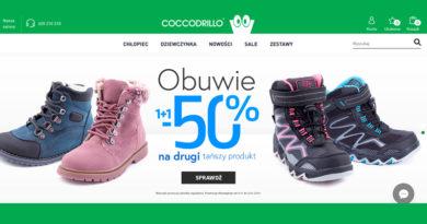 Rabat 50% na drugą parę butów w Coccodrillo