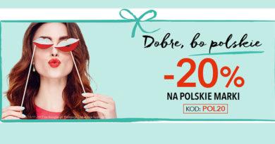 Rabat -20% na polskie marki w Douglas