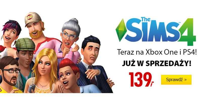 Gra The Sims 4 na konsole już w Media Expert!