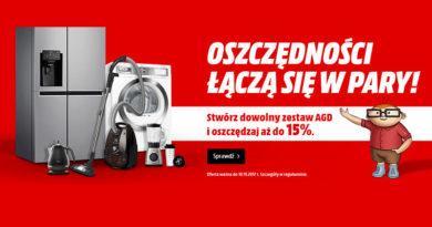 Stwórz zestaw AGD i oszczędzaj do 15% w Media Markt