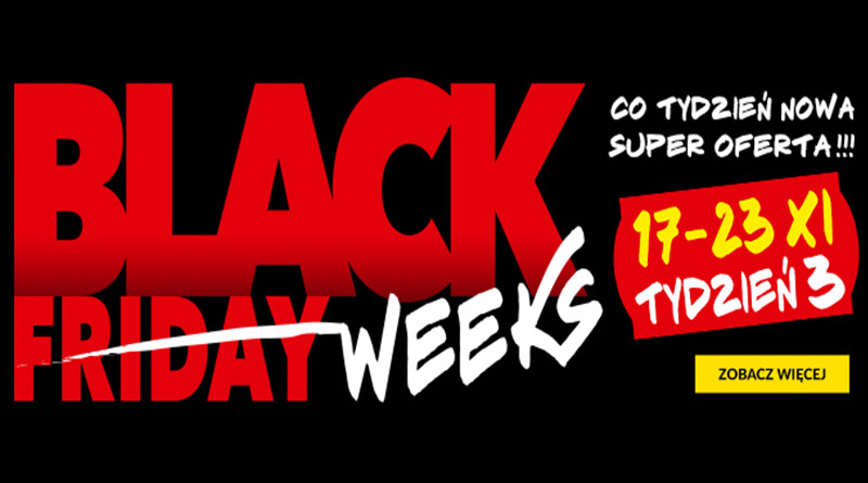 Black Weeks w RTV euro AGD