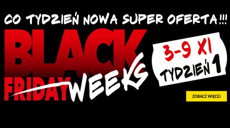 Czas na Black Weeks w RTV euro AGD
