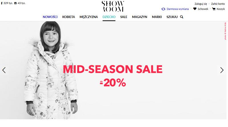 Mid-Season Sale do -20% w Showroom