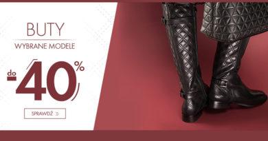 Rabat na buty do -40% w sklepie Wittchen