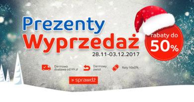 Kup świąteczne prezenty z rabatem do -50% na eMag.pl