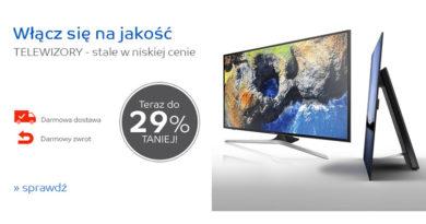Telewizory do 29% taniej na eMag.pl