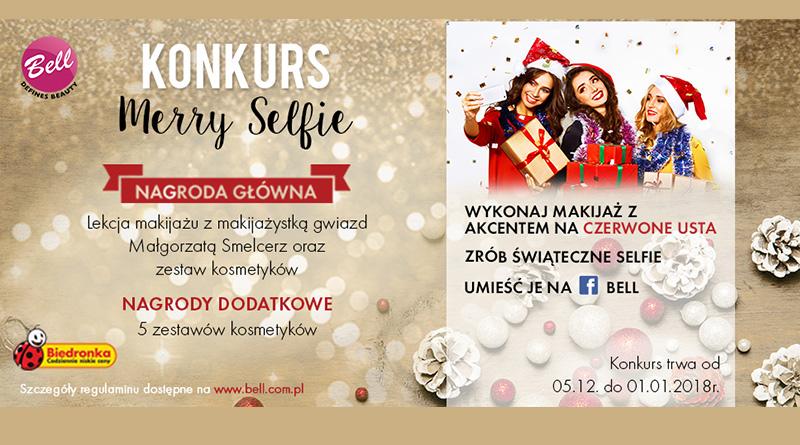 Konkurs Biedronka Merry Selfie