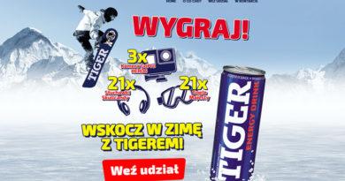 Loteria Tesco Zima z Tigerem w Tesco