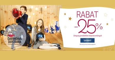 Rabat 25% w dziecięcym sklepie Coccodrillo