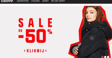 SALE do -50% w sklepie CROPP