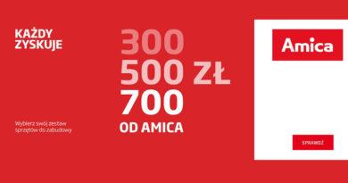 Nawet 700 zł zwrotu od Amica w Neonet