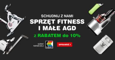 Sprzęt fitness i małe AGD do 10% taniej w OleOle!