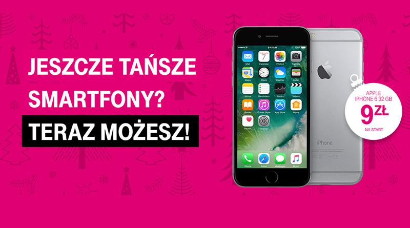 Smartfony taniej niż myślisz w T-Mobile!