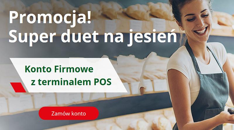 Promocja na Konto Firmowe z terminalem POS w BZWBK