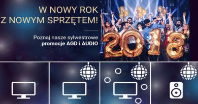 Sylwestrowe promocje AGD i AUDIO w Neo24.pl