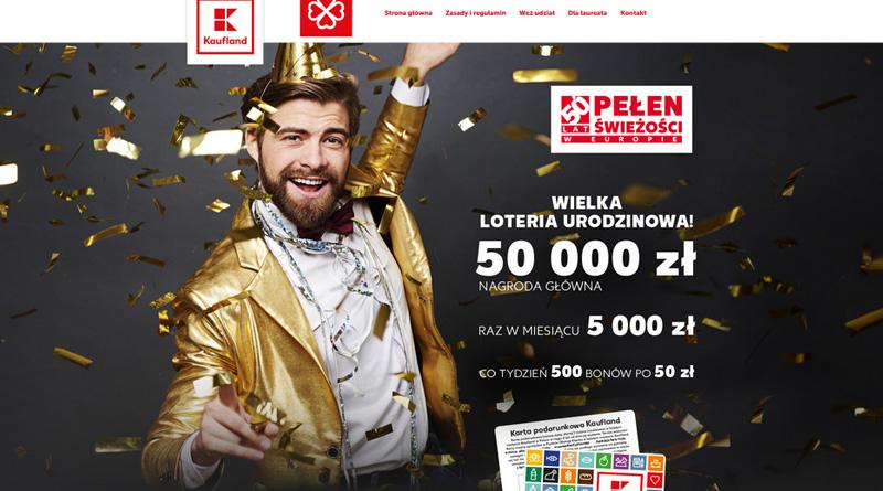 Loteria Kaufland: Kaufland - 50 lat w Europie