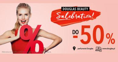 Rabaty do -50% w perfumerii Douglas