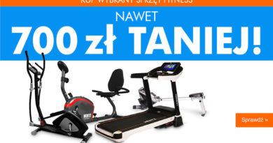 Sprzęt Fitness do 700 zł taniej w Electro